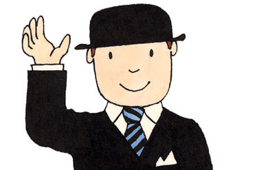 Mr Benn. Artful master of weekly self-renewal or bored man in a constant crisis?