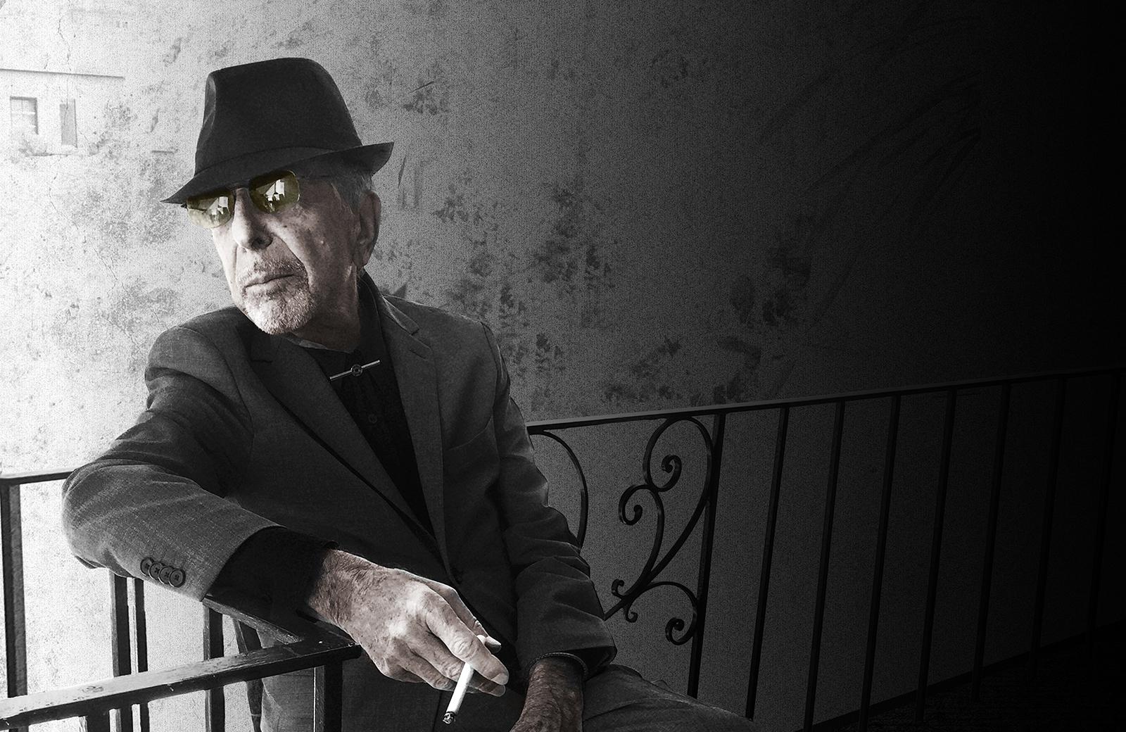 Darker, deeper ... it's Leonard Cohen. Who else?