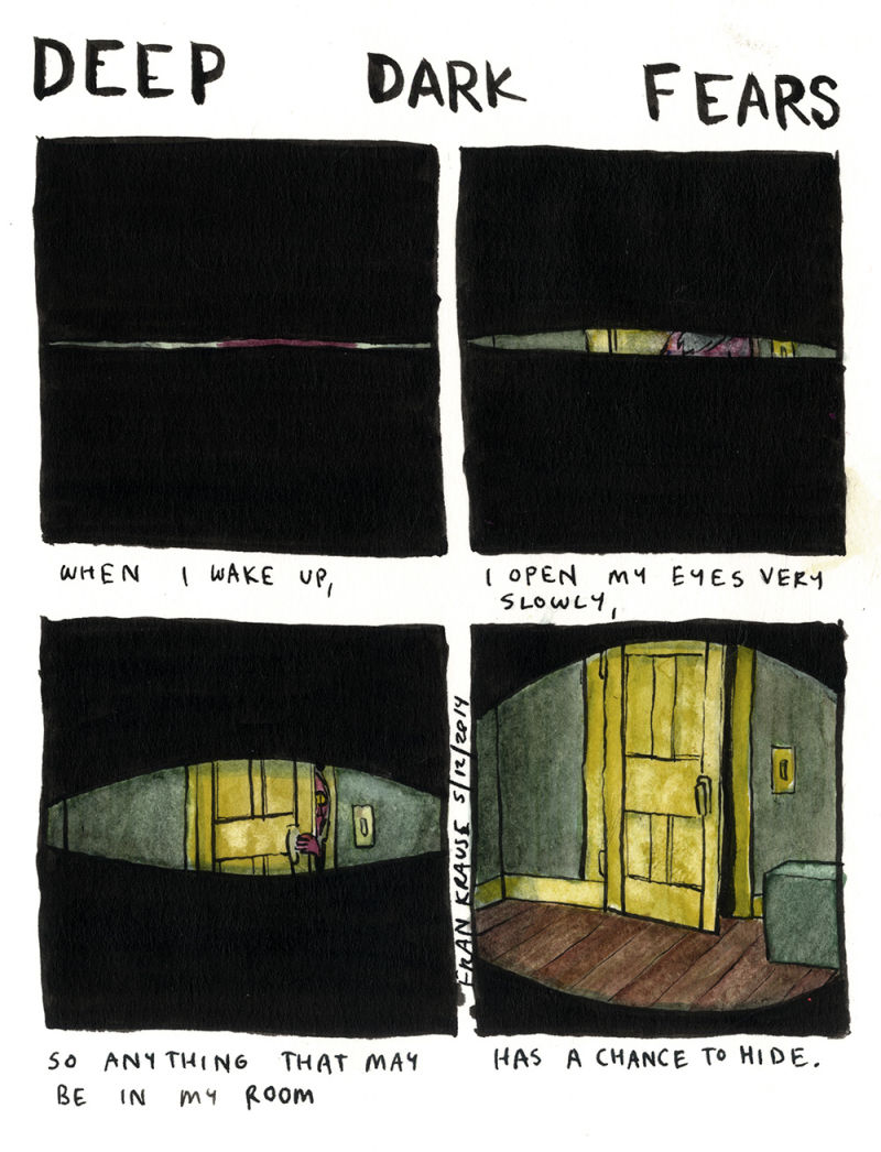 More of this at  http://deep-dark-fears.tumblr.com/