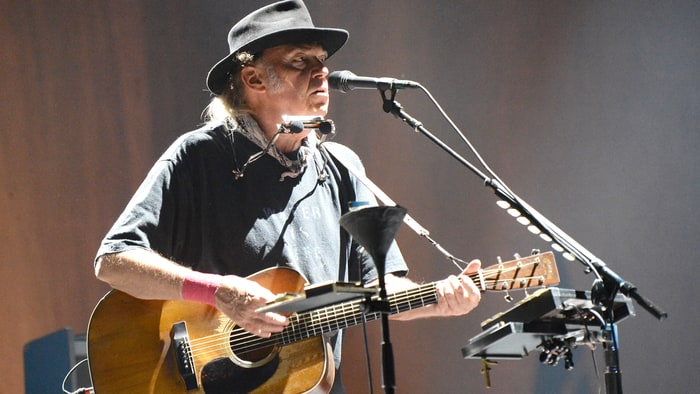 Neil Young … can't stop moving, and now on the Peace Trail