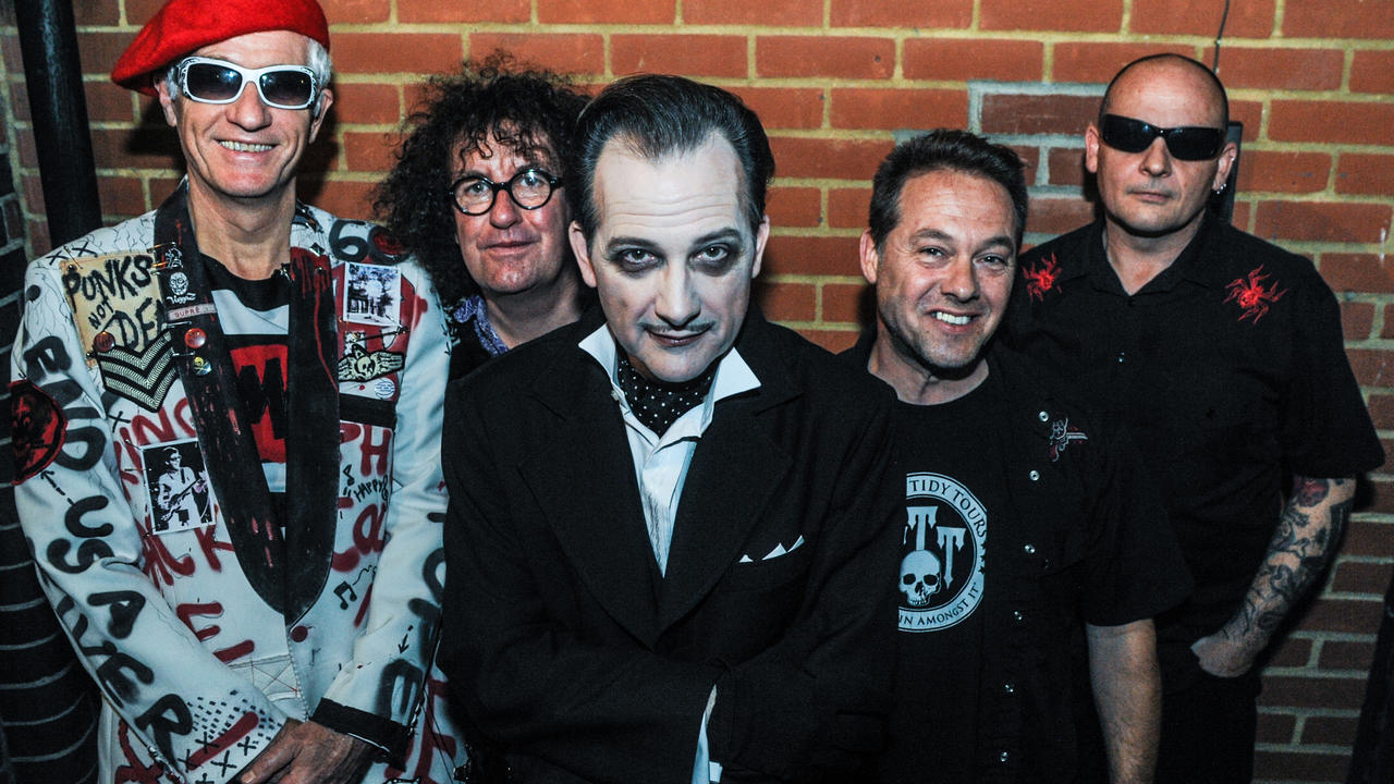 The Damned reunited ...
