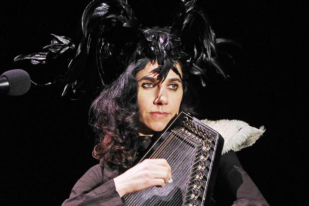 PJ Harvey performing from Let England Shake