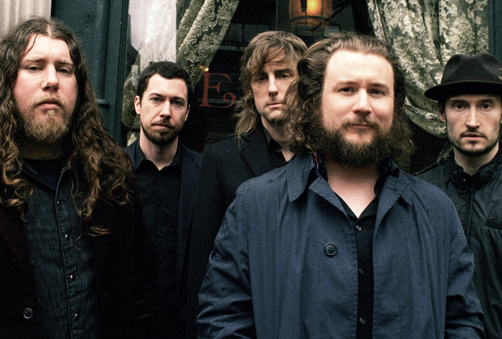 My Morning Jacket, fronted by Jim James