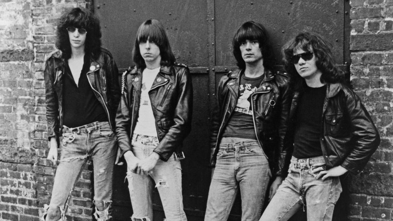 The Ramones … slightly regretting opening that door …