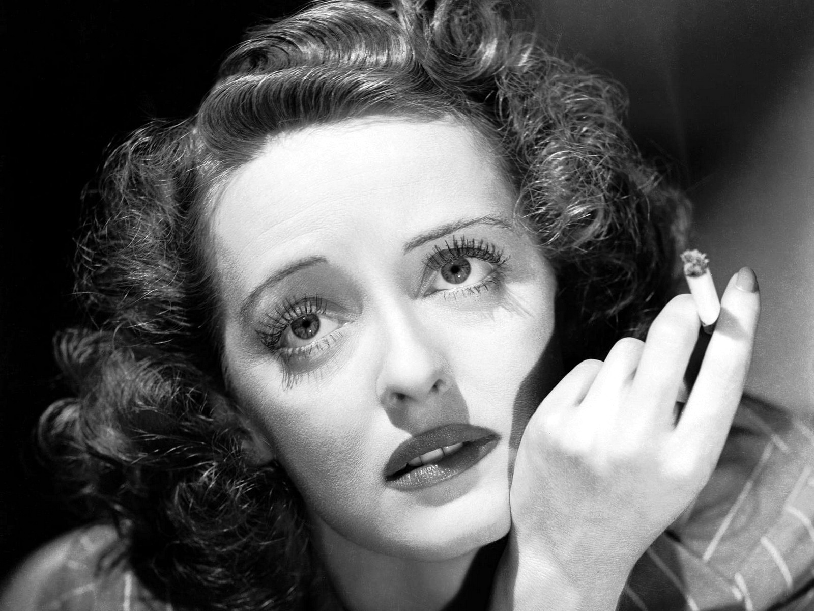 Bette Davis. Look at the eyes, look at the eyes …