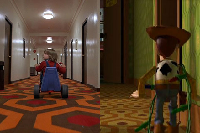 Carpets and much more. The Shining and Toy Story