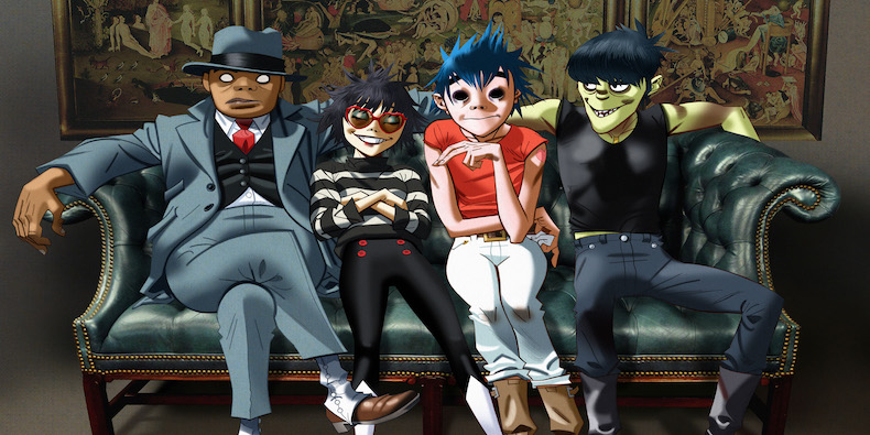 Sitting comfortably? Gorillaz return with a new album … Humanz
