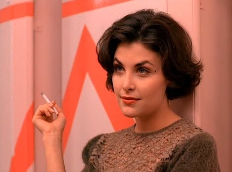 Dreamy? Round the Horne? Audrey, played by Sherilyn Fenn