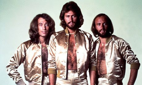 Pure disco gold: Robin, Barry and Robin Gibb - the Bee Gees