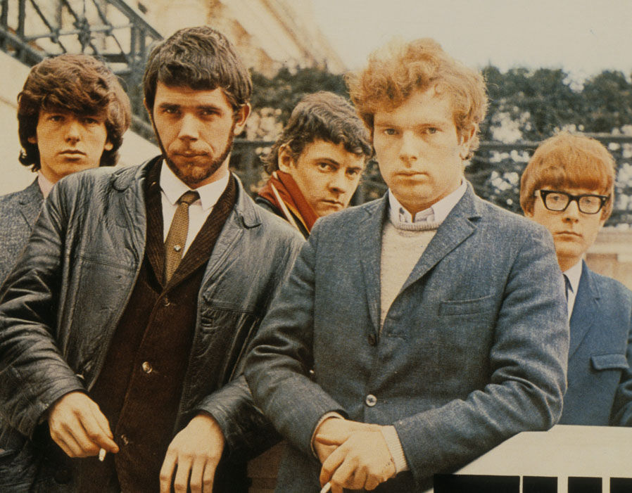 A youthful Van Morrison and Them in the mid-60s