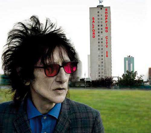 Dr John Cooper Clarke, the Bard of Salford