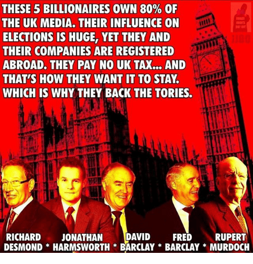 The famous five who fucked up Britain