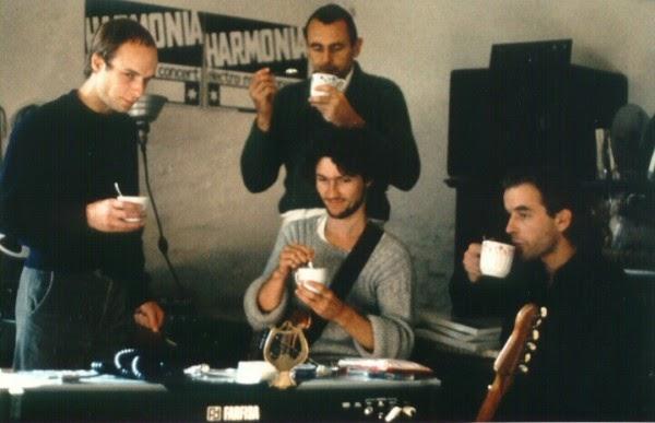 Eno, tea, and Harmonia.