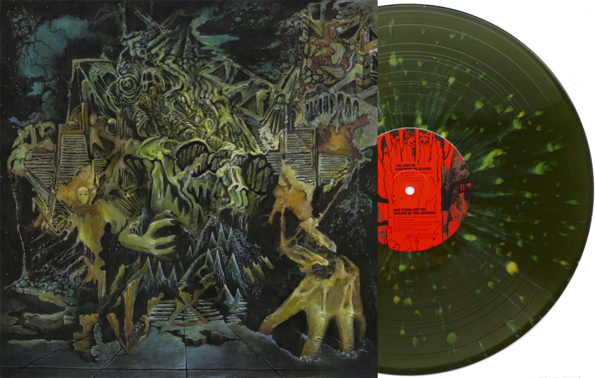 The sleeve of King Gizzard & The Lizard Wizard's Murder of the Universe