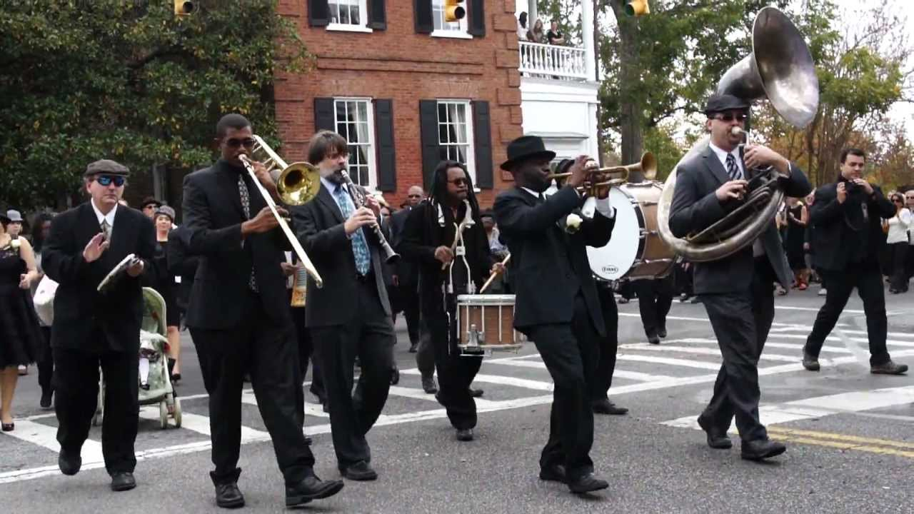 New Orleans jazz can lead a funeral into sombre or upbeat moods