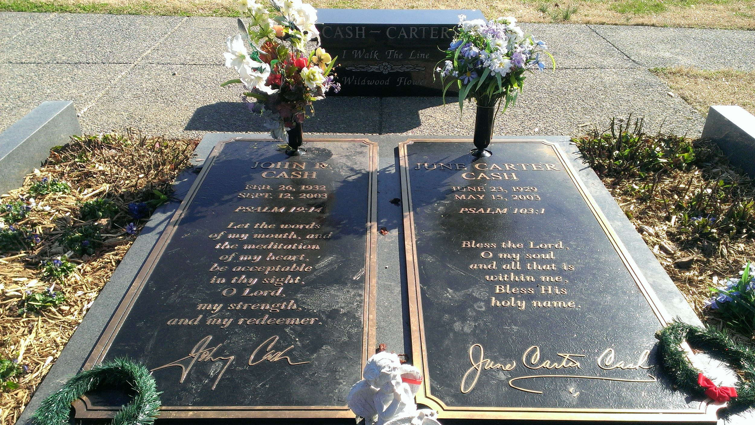 Love was good to him: Johnny Cash, set to rest next to his beloved June Carter Cash
