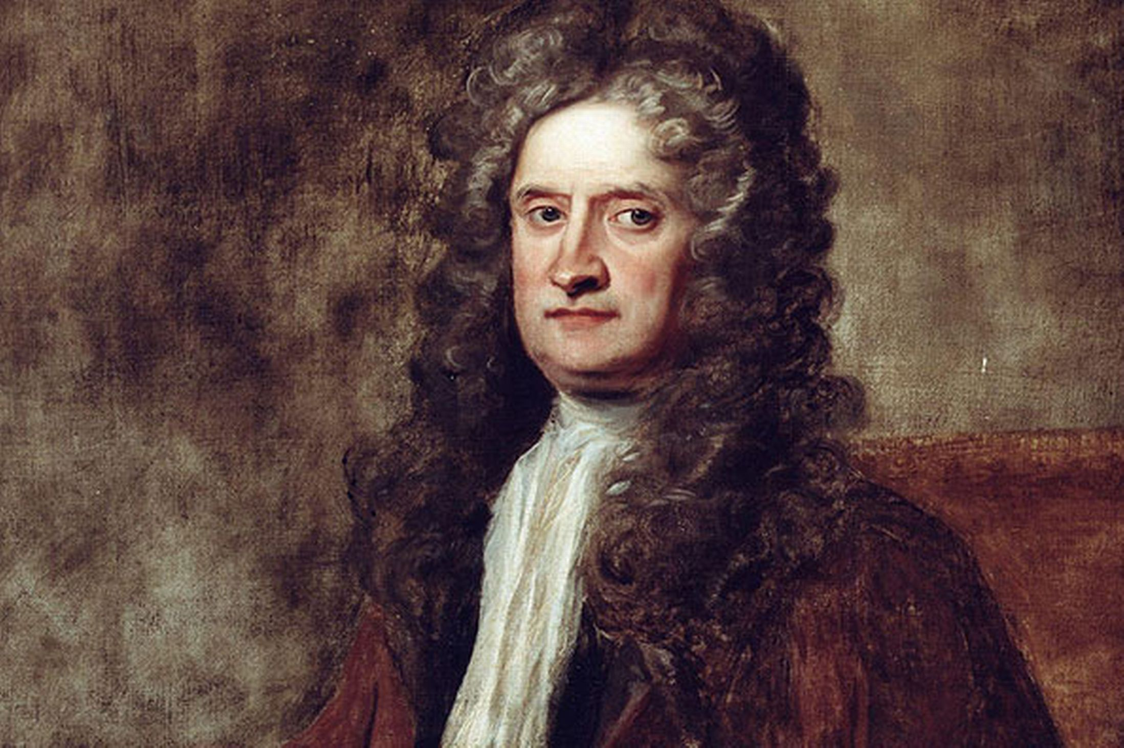 Sir Isaac Newton. Was it obvious his theory would fall in to his lap?