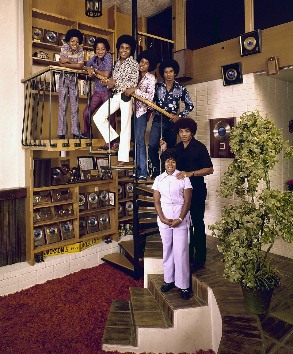 The height of ambition. The Jackson family home.