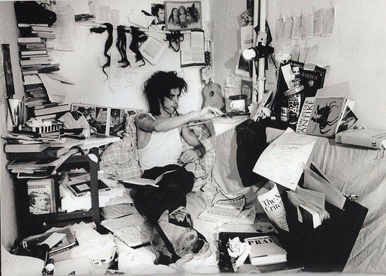 Nick Cave's creative man cave.