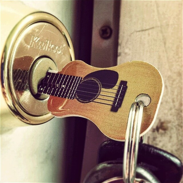 Which guitar key are you in?