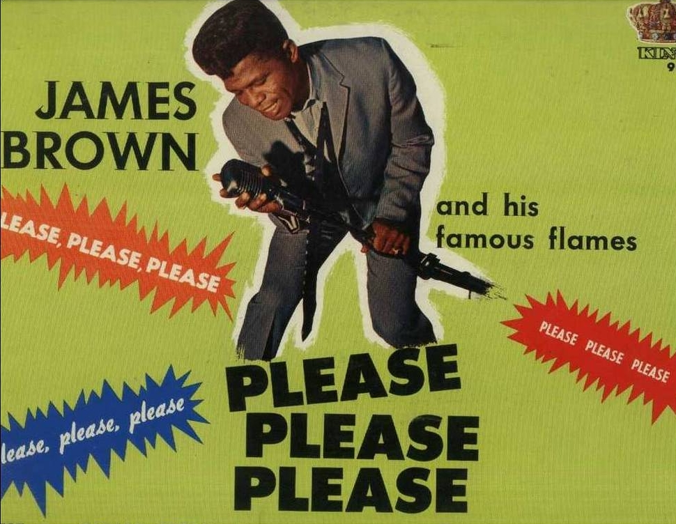 James Brown. Pleasing.