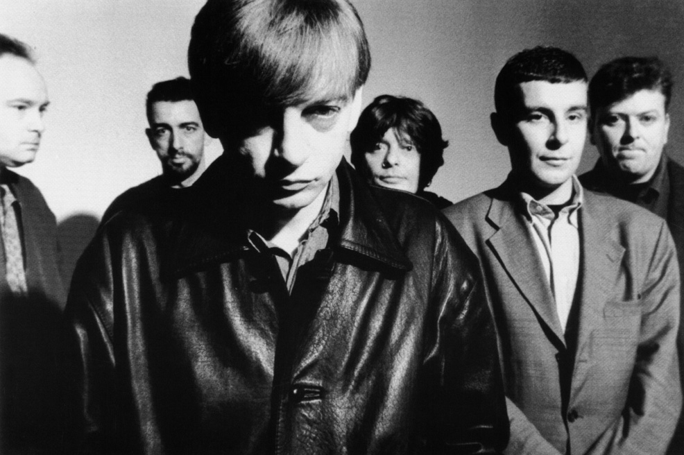 The Fall, with one of many of Mark E Smith's lineups.