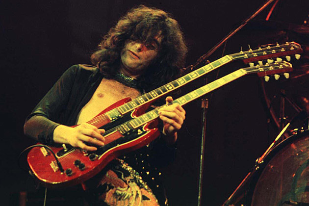 Doubling up: Jimmy Page