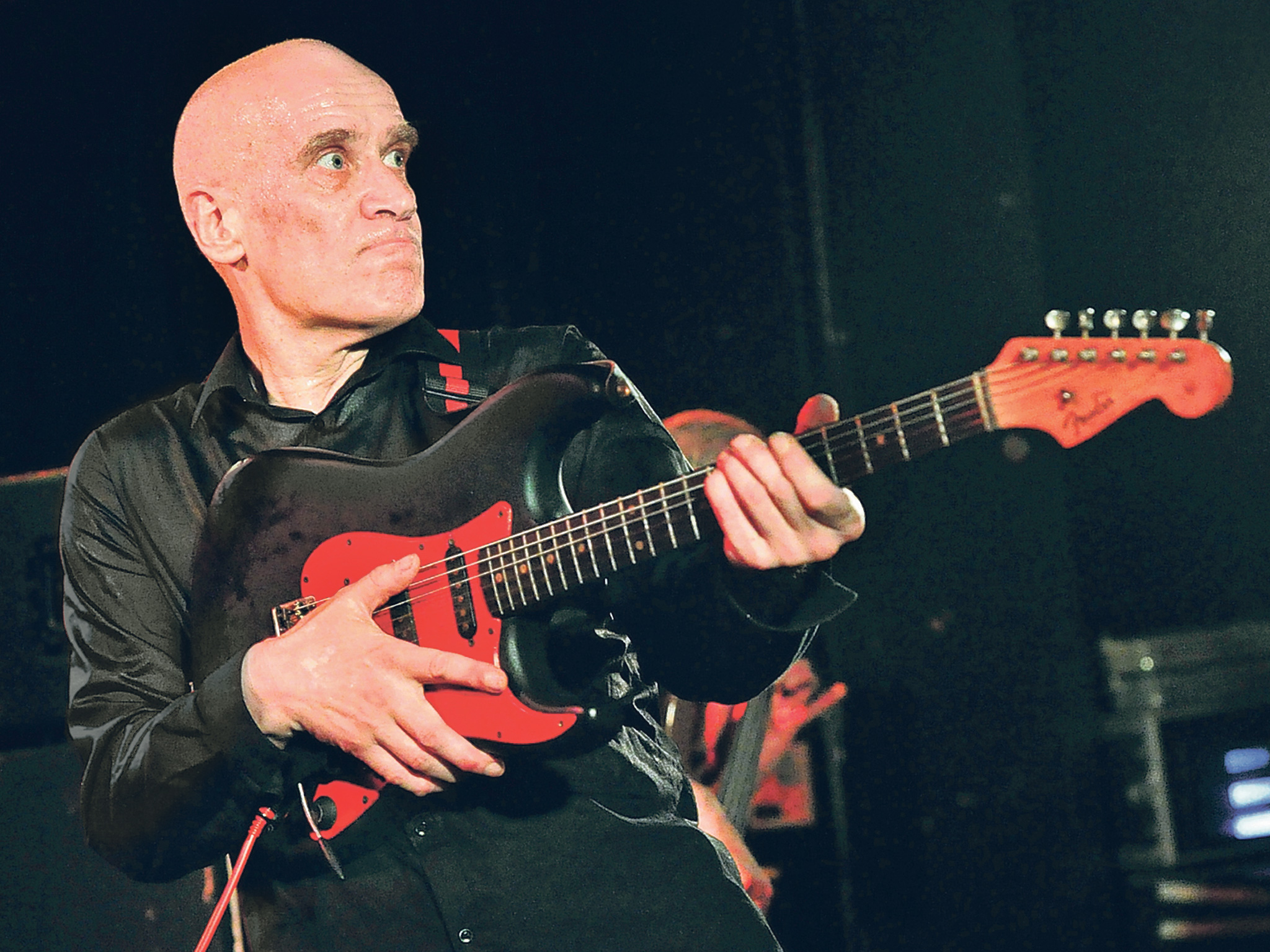 Wilko Johnson. The guitar has been his weapon, but it has also helped save him.