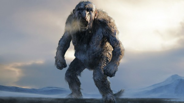 Someone's had a bad day … a rock star from 2010's Norwegian film triumph, Troll Hunter (director André Øvredal)