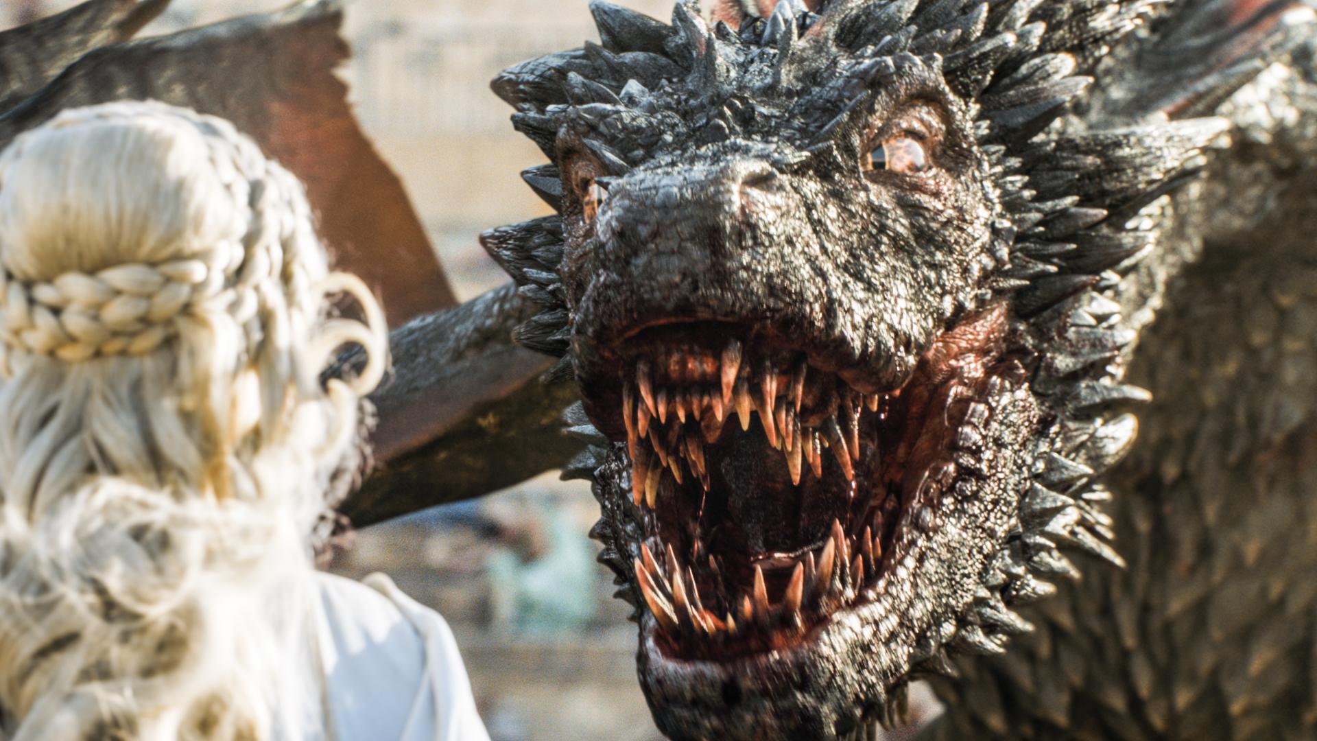 Game of Thrones. Brush your teeth, Drogon!