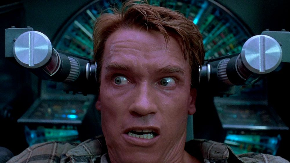 Total Recall: time for Arnie to be reunited with himself …