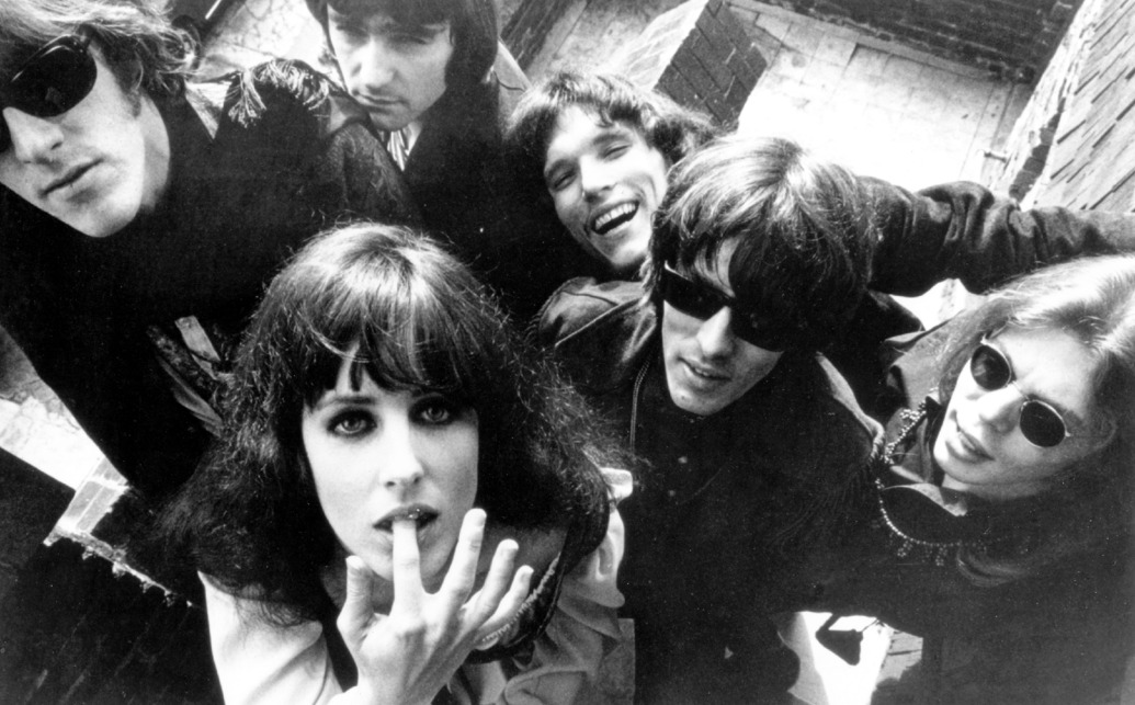 Grace Slick with Jefferson Airplane
