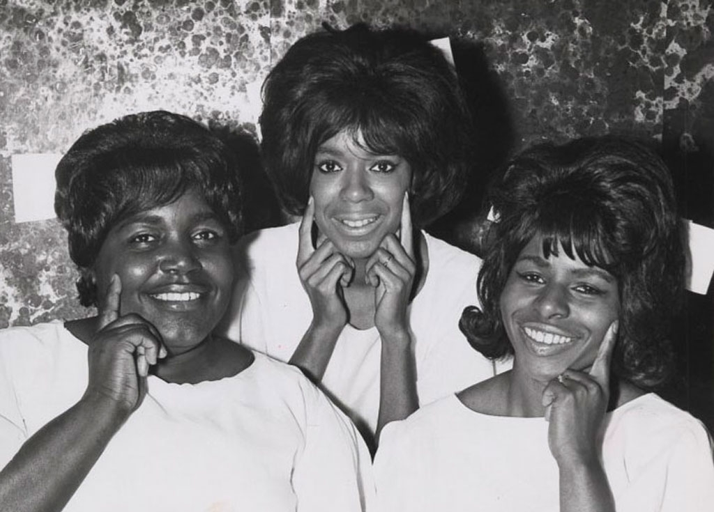 The Andantes: backing vocal mainstays of Motown – Jackie Hicks, Marlene Barrow and Louvain Demps. Who  didn't  they sing for?