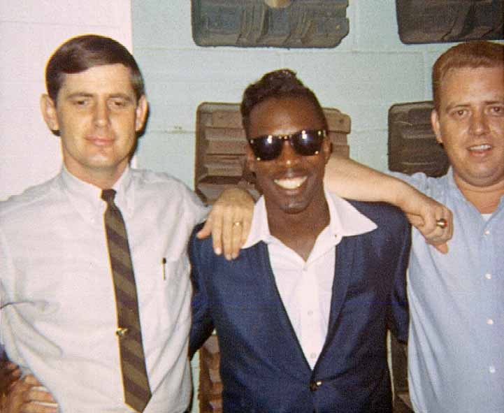 Rick Hall with Wilson Pickett and the great Muscle Shoals guitarist Jimmy Johnson