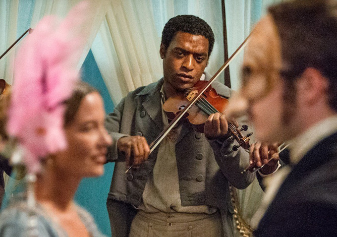 Playing out hidden feelings: Solomon Northrop portrayed in 12 Years A Slave.