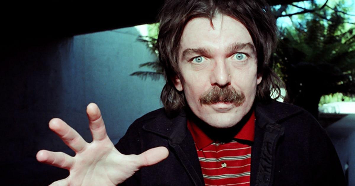 Captain Beefheart, aka Don Van Vliet – musician, artist, visionary.
