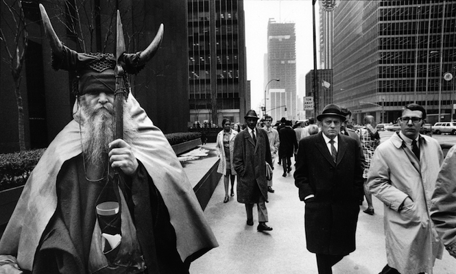 Moondog in Manhattan