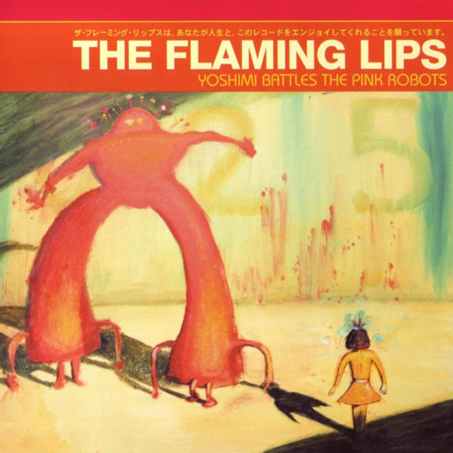 The Flaming Lips' Yoshimi Battles The Pink Robots - could have been a sci-fi book title?