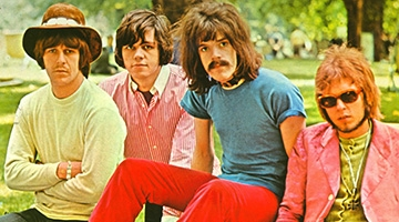 The Move, featuring the moustachioed Roy Wood, in 1968.