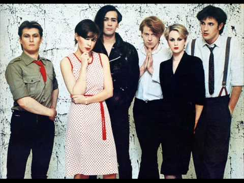 The Human League, featuring Phil Oakey, third from left.