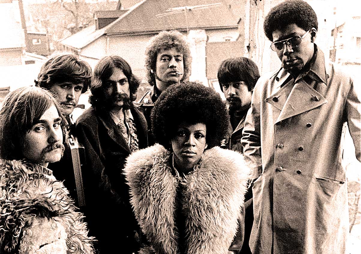 Rotary Connection, featuring Minnie Riperton and Charles Stepney (right).
