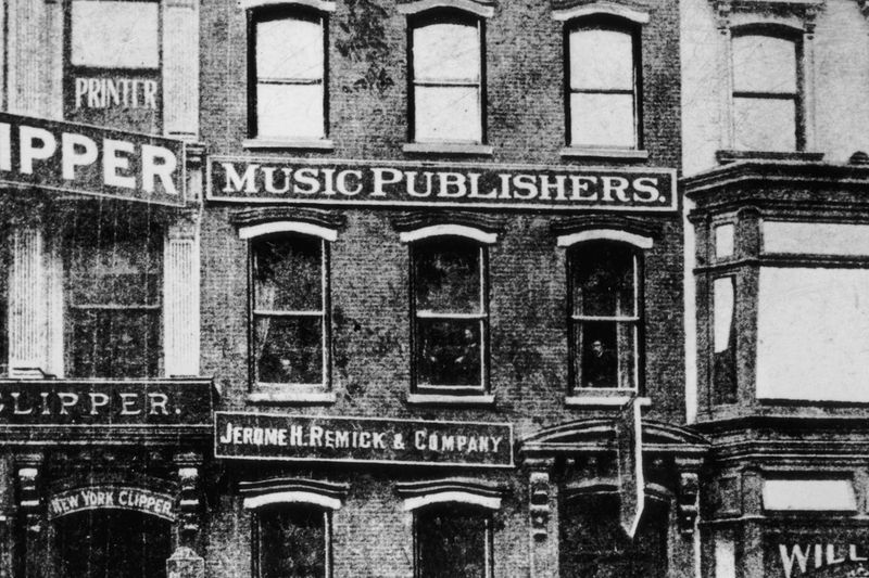 Tin Pan Alley, 1905