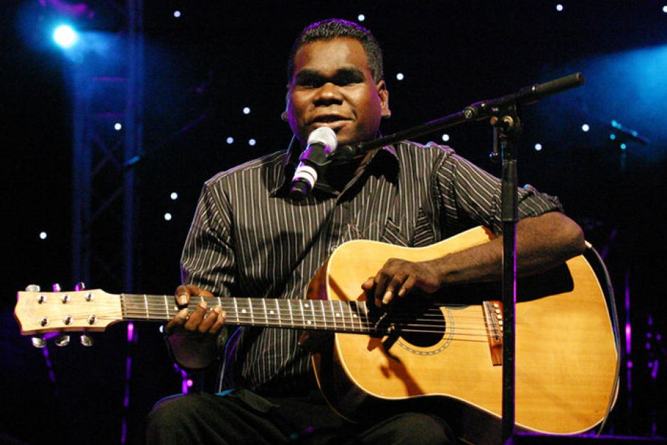 A unique and beautiful voice:  Geoffrey Gurrumul