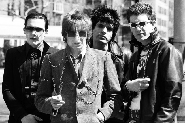 The early Damned: from left, Dave Vanian, Rat Scabies, Brian James and Captain Sensible