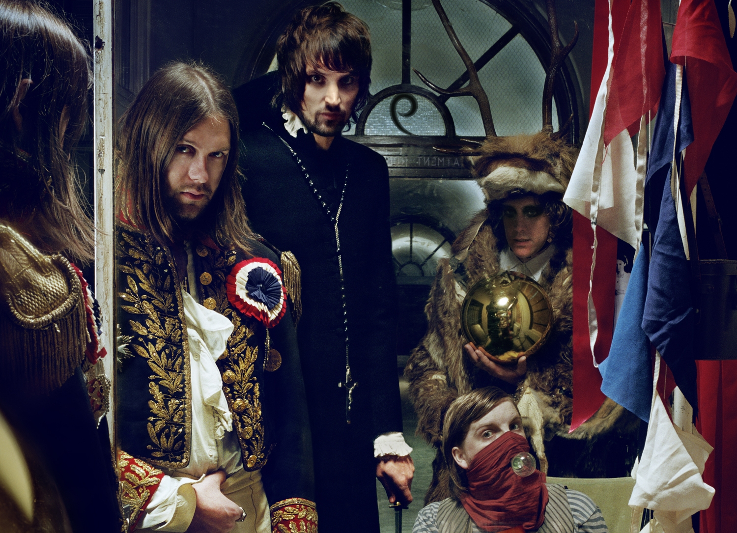 From the cover of Kasabian's West Ryder Pauper Lunatic Asylum