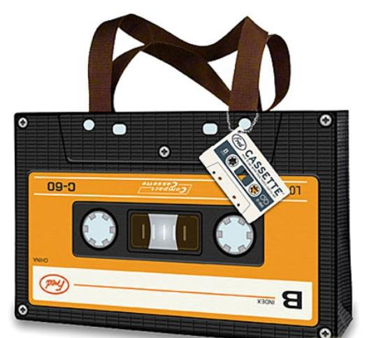 Cassettes?What a carry on.
