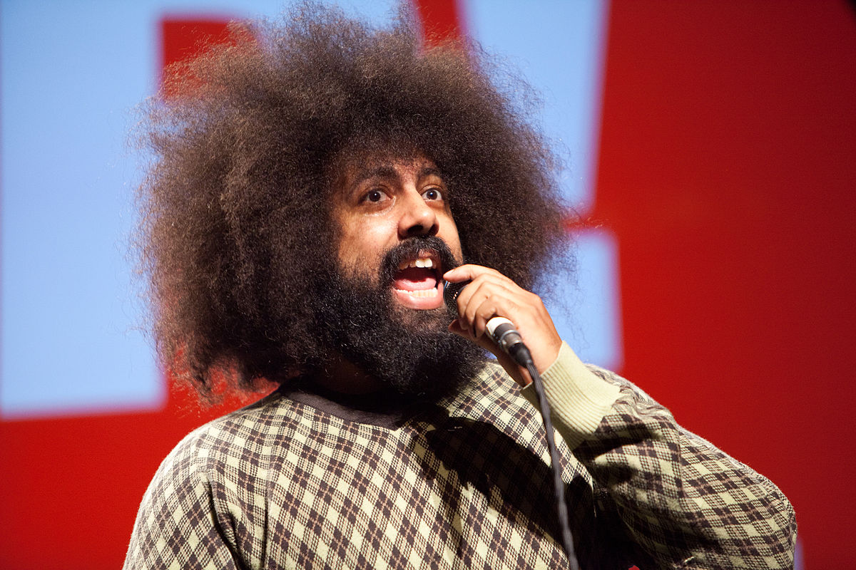 Reggie Watts. A performer of infinite jest.