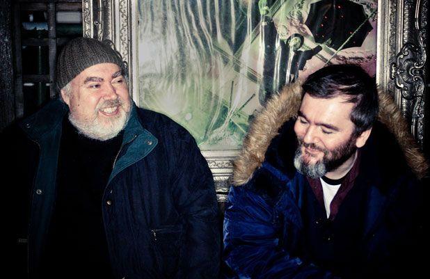Pub mates and song collaborators Aidan Moffat and Bill Wells