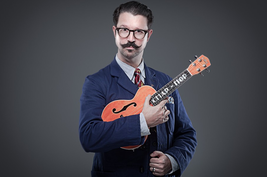 Straight Outta Surrey. 21st-century (tea) fusion,chap-hop style, with Mr B the Gentleman Rhymer.