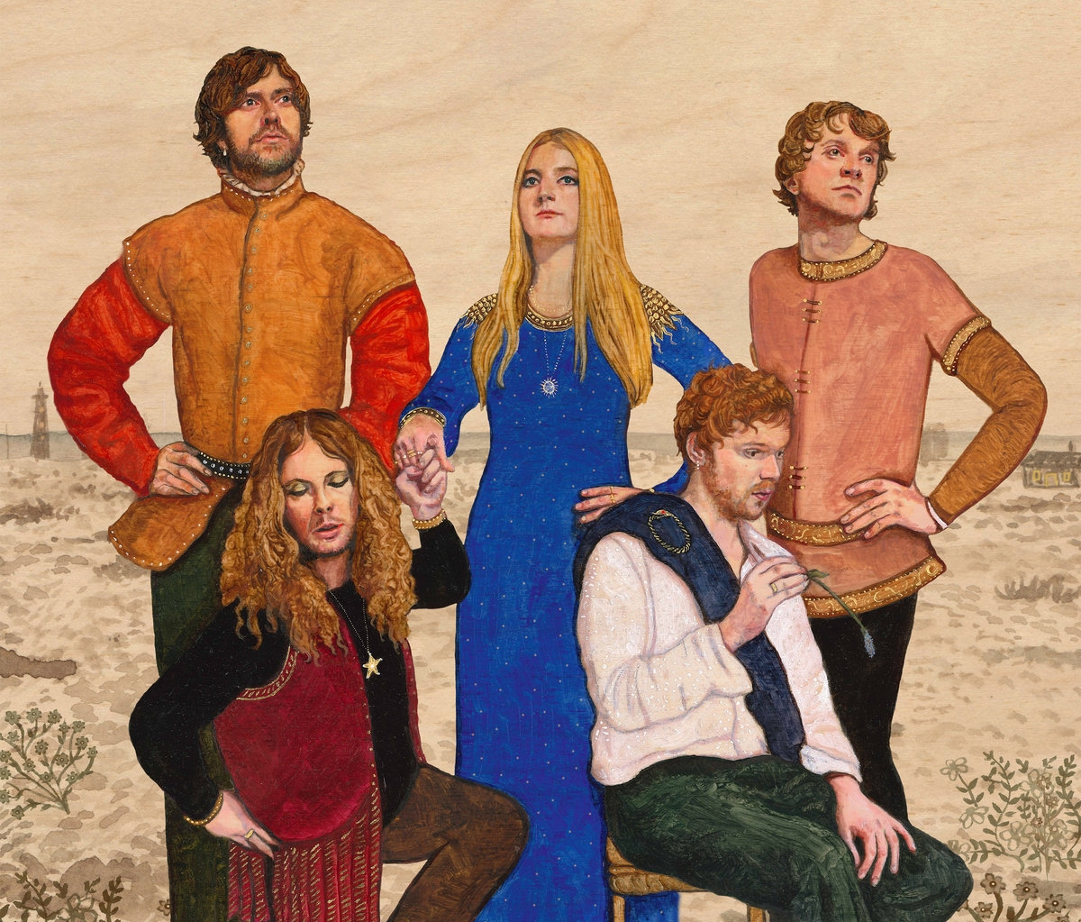 Old and yet new: Trembling Bells album cover for 2018's Dungeness